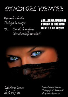 Clases de Danza del Vientre y Círculos de Mujeres en Benimaclet